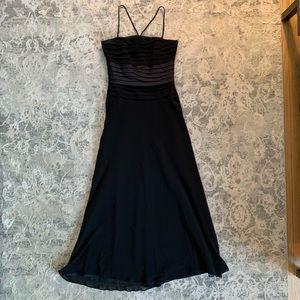 Black maxi gown